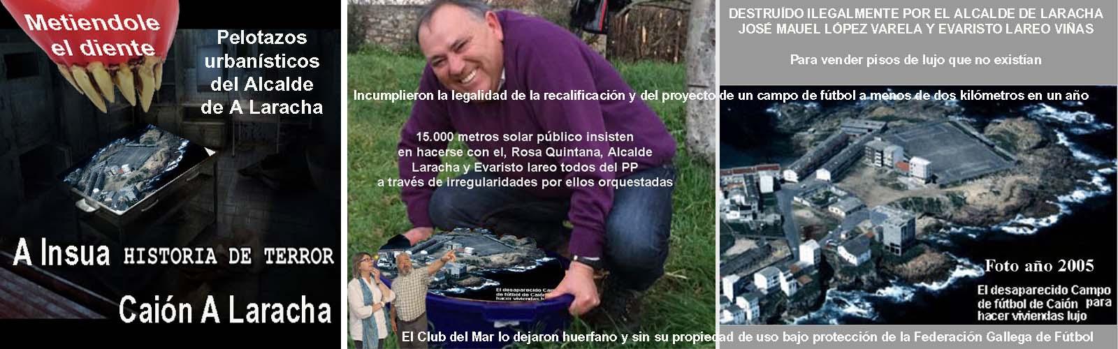 9d1f00fe4 El pelotazo urbanístico del solar da Insua en Caion ya fue recogido por los  diarios LA VOZ DE GALICIA