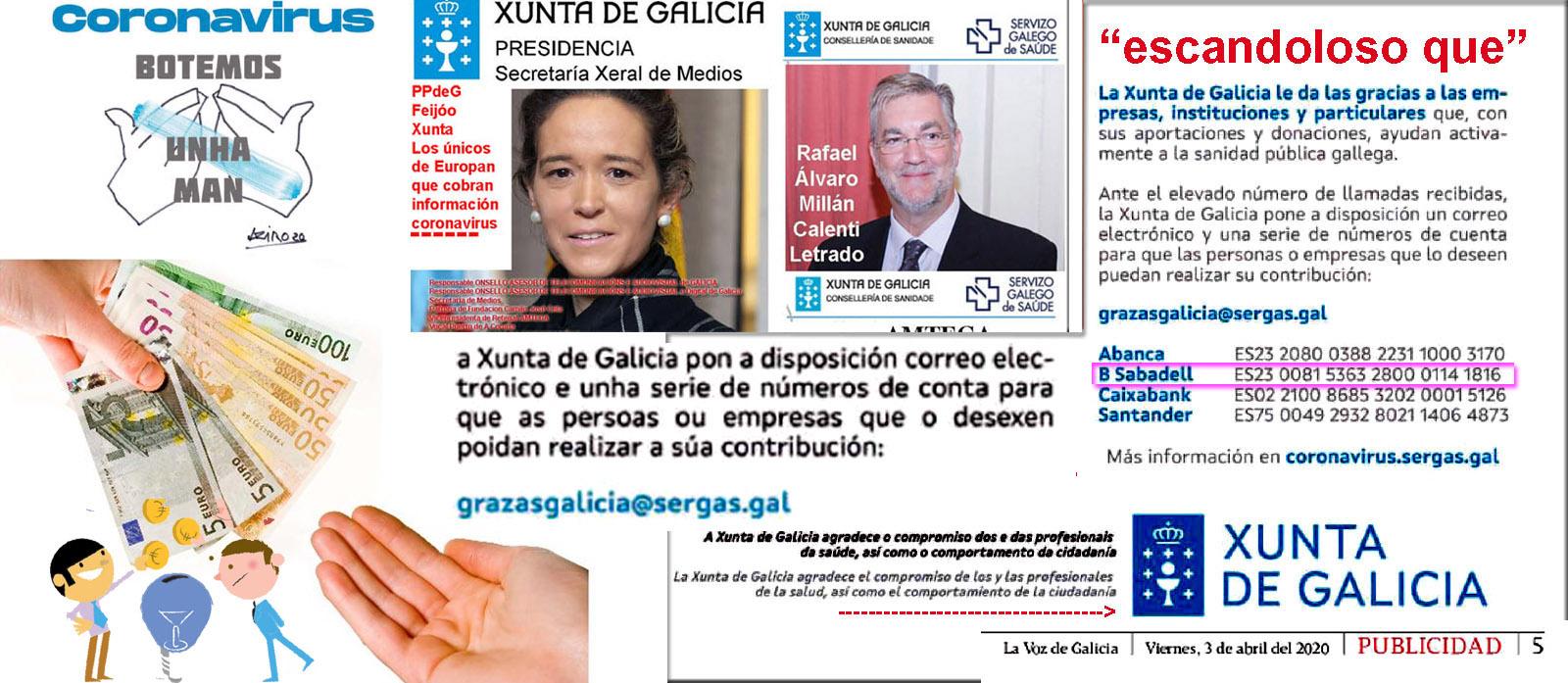 bancosabadell pablo junceda donativos dinero mediantecuentasbancarias sergas mar sanchezsierra