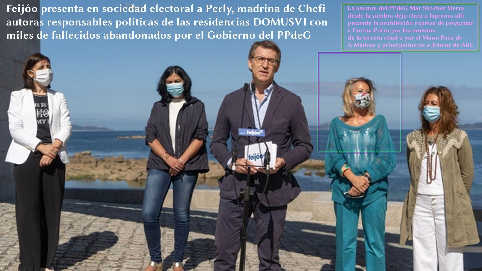 Feijóo presenta en Sociedad a la madrina de Chefi, la Sra Perly ...