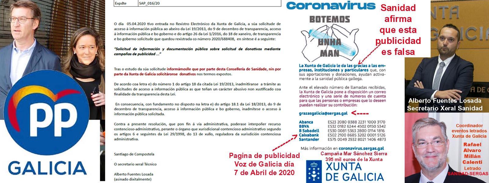 Andrés García Boutureira (Acerga) anuncia regalo a la Xunta de 4.500 euros de las ayudas que le dió la Xunta....Sale por un lado y vuelve por el otro a la Xunta y los pescadores a
