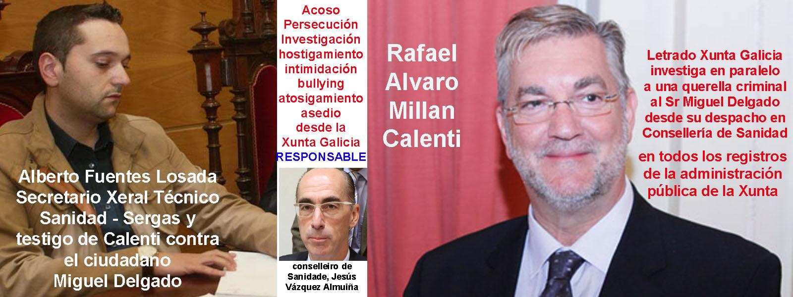 El letrado de la Asesoría de Sanidad Sr Rafael Alvaro Millan ...