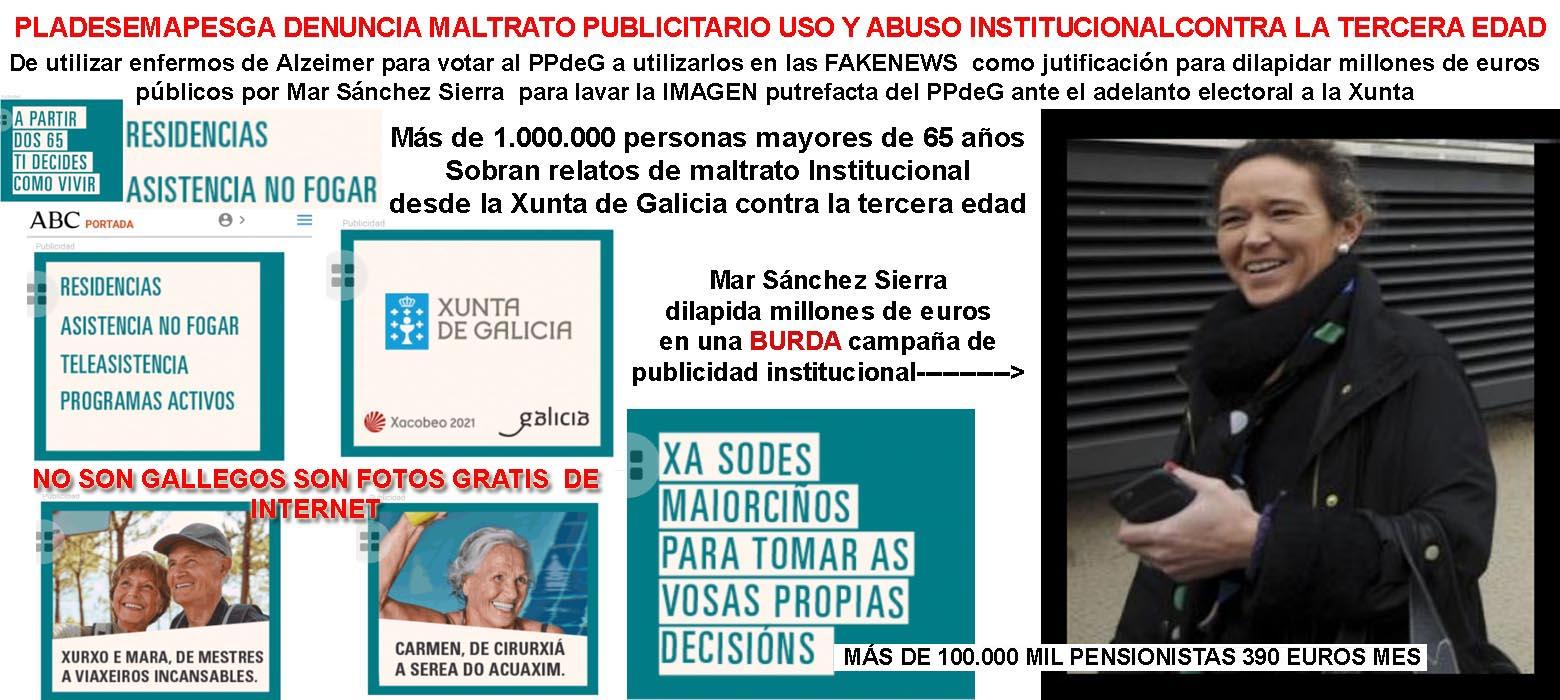 """El Gobierno de Feijóo anuncia en un """"panfleto fake news EN MARCHA ..."""