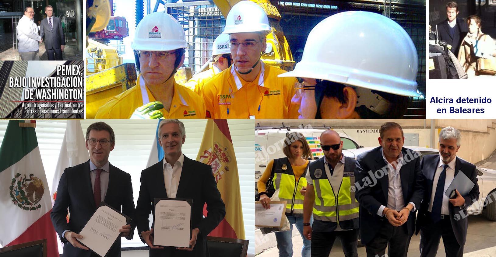 Mariano Rajoy, Feijóo y Pemex metieron de lleno a Barreras en el ...