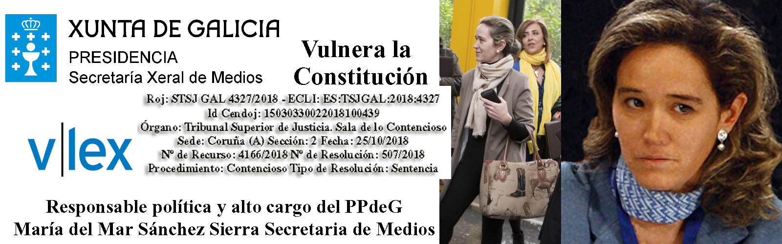 Mar Sánchez Sierra ( alto cargo del PPdeG ) muy activa en ...