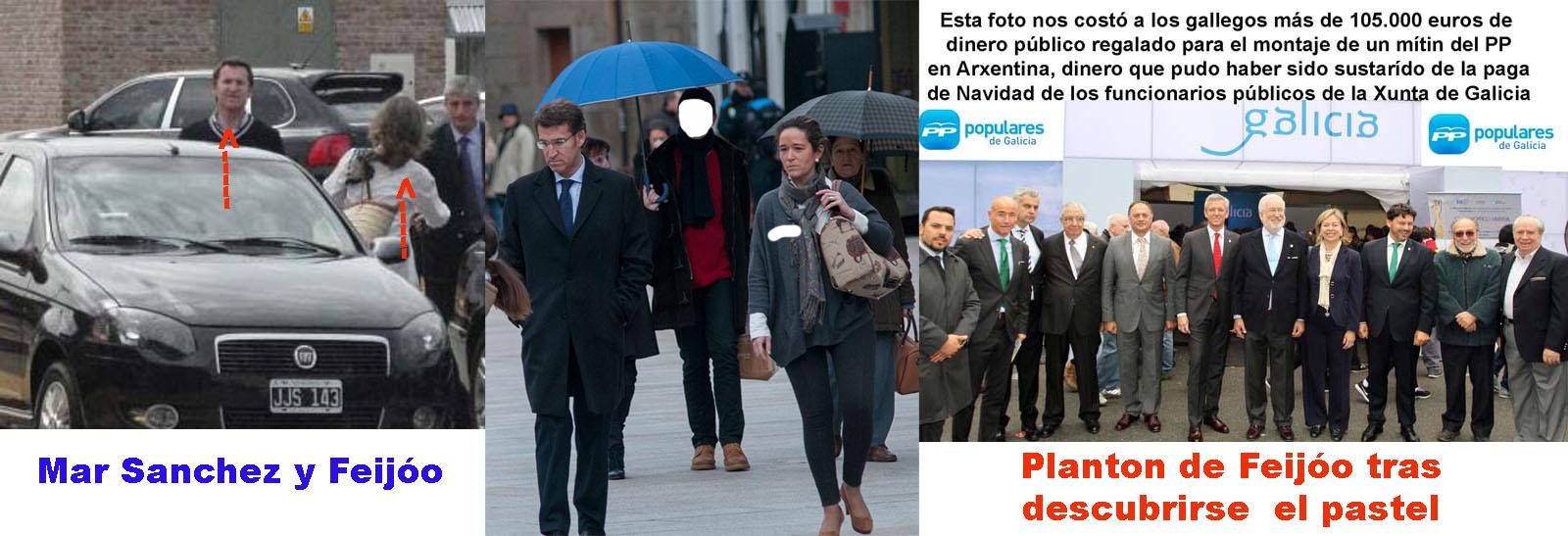 Alberto Núñez Feijóo y Mar Sánchez Sierra más cerca de la ...